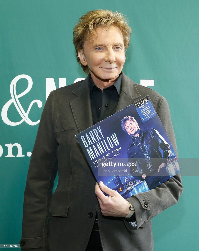 Barry Manilow Signs Copies Of His New Album