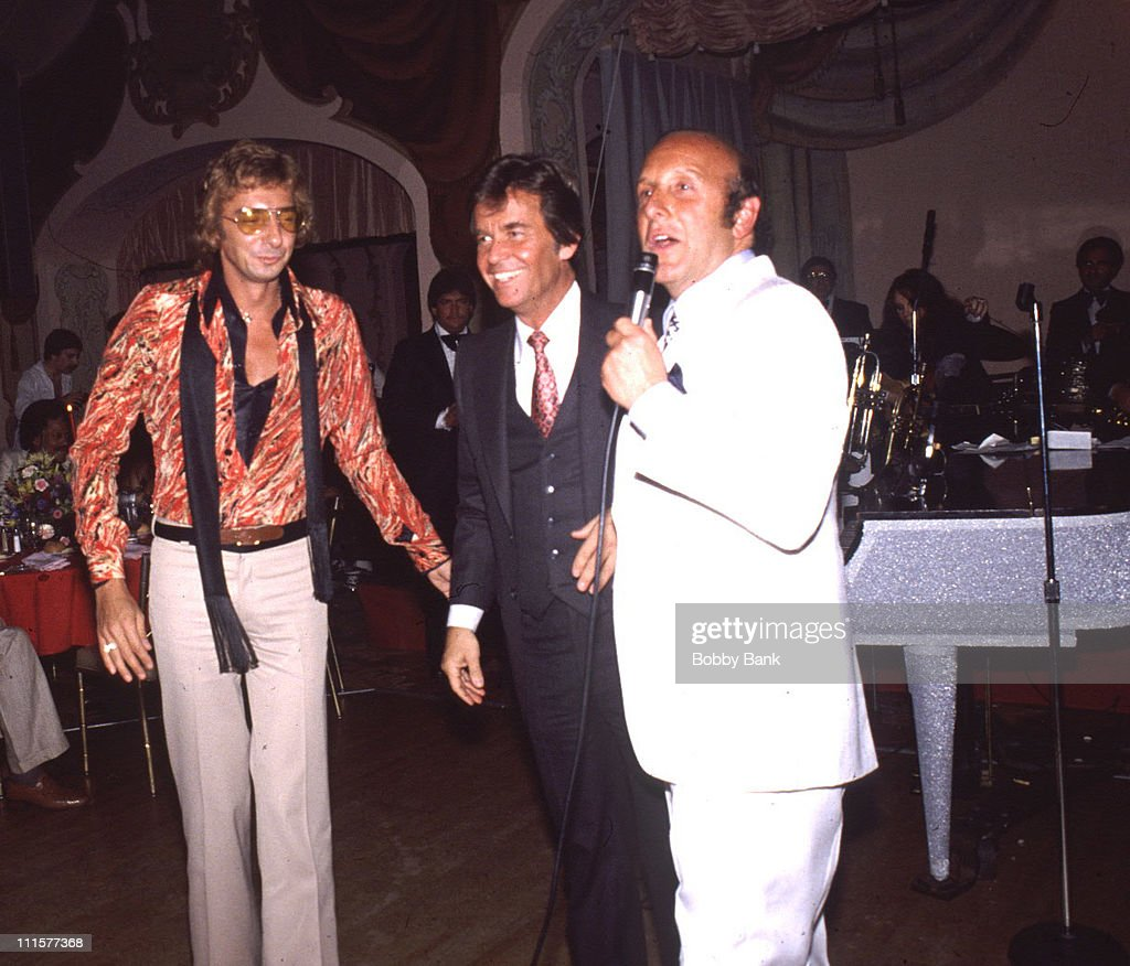 Barry Manilow Party at St Regis Hotel July 27 1978 : Nieuwsfoto's