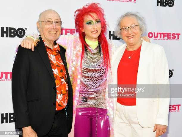 Barry Mason Rachel Mason and Karen Mason attend the Outfest Los Angeles LGBTQ Film Festival Opening Night Gala premiere of Circus Of Books at Orpheum...
