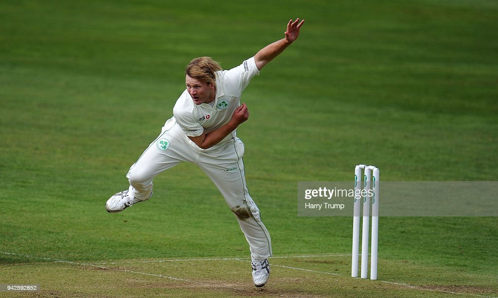 Somerset v Ireland : News Photo