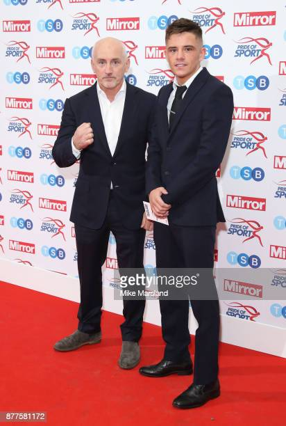 Barry McGuigan attends the Pride of Sport awards at Grosvenor House on November 22 2017 in London England