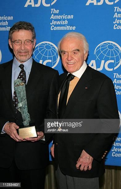 Barry Meyer and Jack Valenti