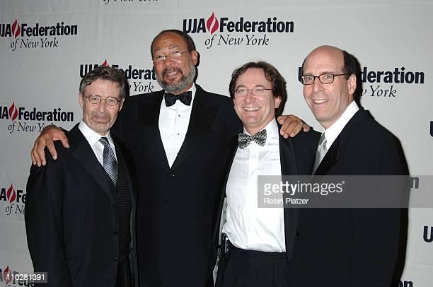 Barry Meyer Richard Parsons Lawrence Aidem and Matt Blank