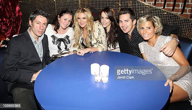 Barry Mullineaux Tracey Manner Stephanie Pratt Cat Jonathan Kirkby and Jessica Patrick of Lipsy attend the Lipsy London launch at Bloomingdale's Soho...