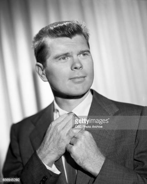 """Barry Nelson portrays George Cooper in the CBS television situation comedy, """"My Favorite Husband."""" Image dated: November 22, 1954. Los Angeles, CA."""