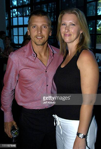 Barry Pepper and Cindy Pepper during HBO's Documentary My Uncle Berns Los Angeles Premiere at Museum of Tolerance in Los Angeles California United...