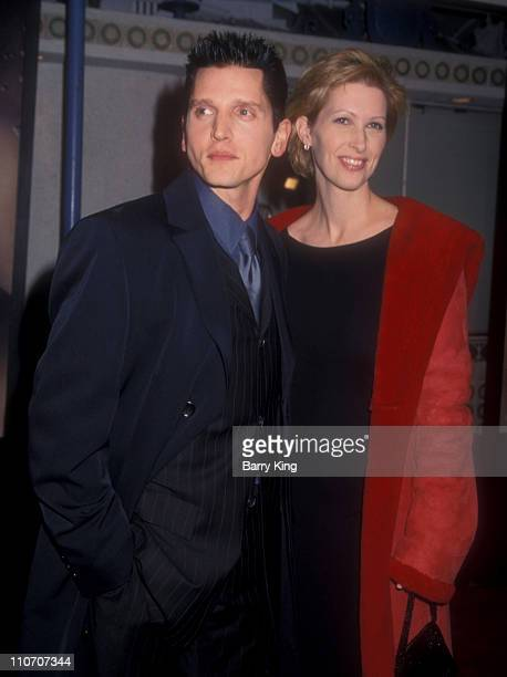 Barry Pepper and Cindy Pepper during The Green Mile Benefit Premiere Westwood California at Mann Village Theatre in Westwood California United States