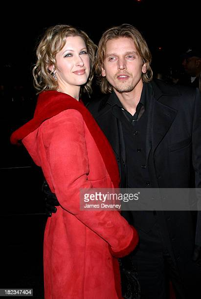 Barry Pepper and wife Cindy during 25th Hour New York City Premiere Arrivals at Ziegfeld Theater in New York City New York United States