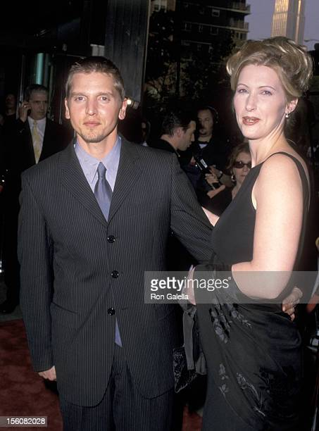 Barry Pepper and Wife Cindy Pepper during Premiere of HBO Films '61*' at Chelsea West Theaters in New York City NY United States