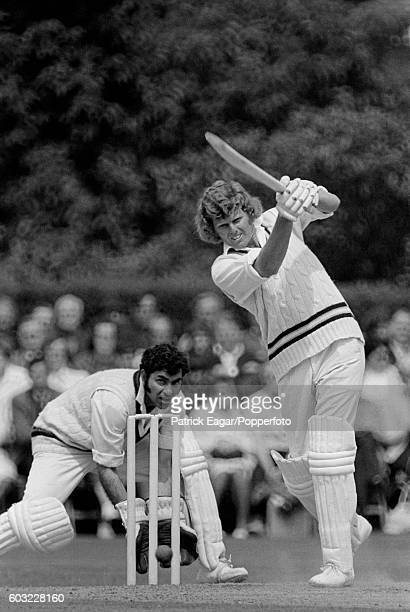 Barry Richards of Hampshire batting during his 129 in the Gillette Cup Quarter Final between Hampshire and Lancashire at Dean Park Bournemouth 2nd...