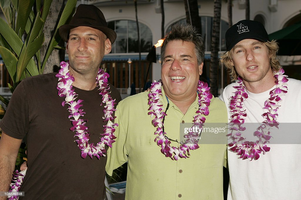 Barry Rivers and Owen Wilson during 2005 Maui Film Festival - Opening Night Twilight Reception at Fairmont Kea Lani Hotel in Maui, Hawaii, United States.