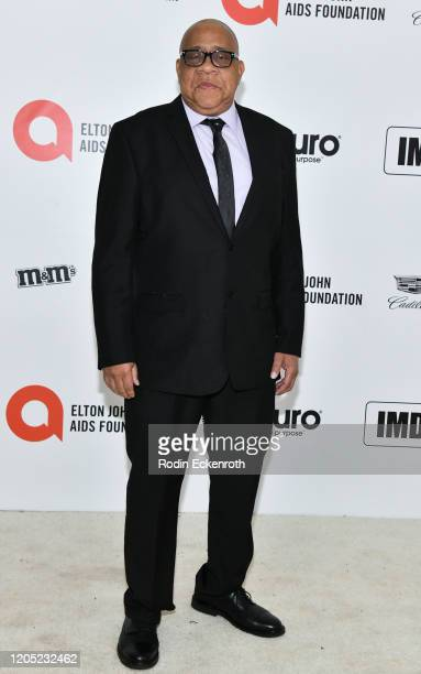 Barry Shabaka Henley attends the 28th Annual Elton John AIDS Foundation Academy Awards Viewing Party Sponsored By IMDb And Neuro Drinks on February...