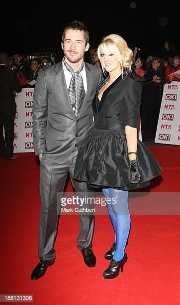 Barry Sloane And Katy O'Grady At The 2008 National Television Awards At The Royal Albert Hall Kensington Gore Sw7