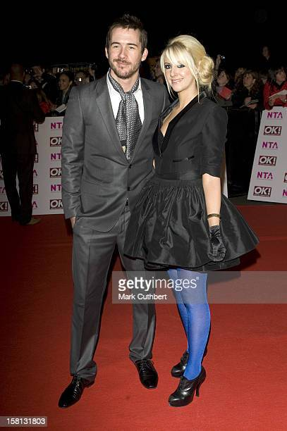 Barry Sloane And Katy O'Grady At The National Tv Awards At The Royal Albert Hall In London