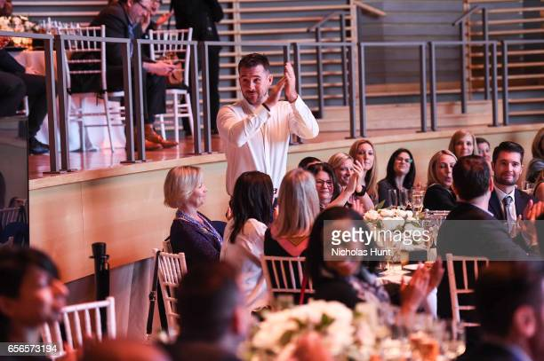 Barry Sloane attends the 2017 AE Networks Upfront At Jazz At Lincoln Center's Frederick P Rose Hall on March 21 2017 in New York City