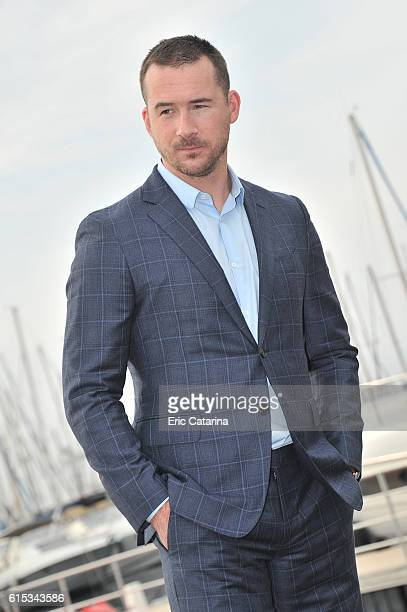 Barry Sloane attends the Six photocall at Palais des Festivals on October 17 2016 in Cannes France
