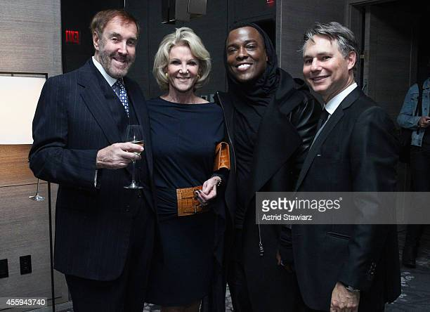 Barry Slotnick Elaine Wynn WonG and Jason Binn attend Jason Binn's DuJour Magazine celebration of Lenny Kravitz with InList presented by Absolut Elyx...