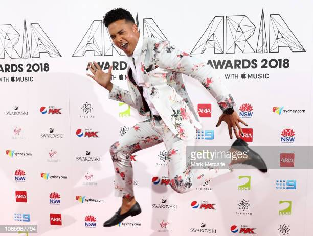 Barry Southgate arrives for the 32nd Annual ARIA Awards 2018 at The Star on November 28 2018 in Sydney Australia