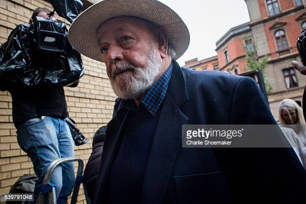 Barry Steenkamp, Father of Reeva Steenkamp arrives at North Gauteng High Court on June 13, 2016 in Pretoria, South Africa. Having had his conviction...