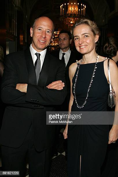 Barry Sternlicht and AnneClaire Taittinger attend Baccarat Presents the 2nd Annual UNICEF SNOWFLAKE BALL at WaldorfAstoria Hotel on November 28 2005...