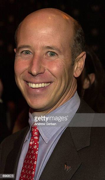 Barry Sternlicht Chairman and CEO of Starwood Hotels and Resorts attends the opening night party for the W Hotel in Times Square February 12 2002 in...