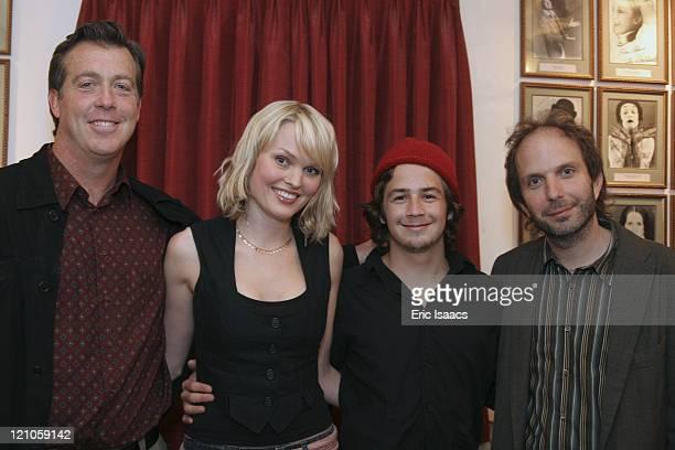 Barry Stringfellow Sunny Mabrey Michael Angarano and Alex Steyermark