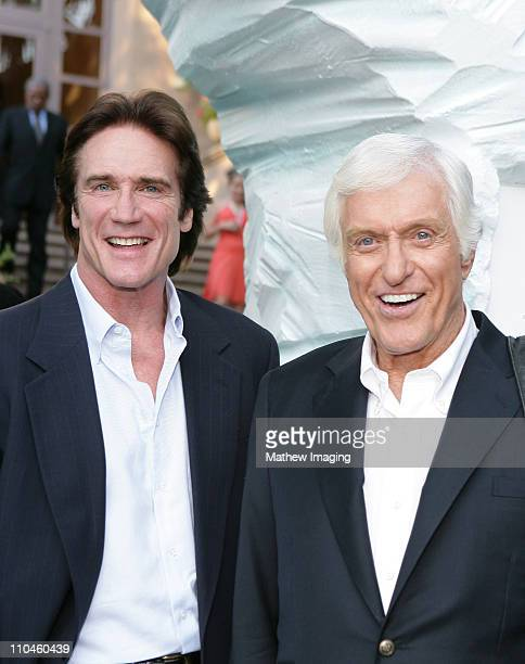 Barry Van Dyke and Dick Van Dyke during Hallmark Channel TCA Party July 12 2006 at Ritz Carlton Huntington Hotel in Pasadena California United States