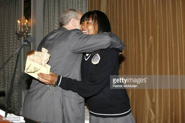 Barry Weiss and Imani Mcrae attend the Young Women's Leadership Network Hosts the 3rd Annual Power Breakfast at the Pierre Hotel on September 30,...