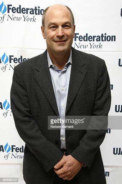 Barry Weiss Chairman and CEO for RCA/Jive Label Group of Sony Music poses for a photograph at the UJAFederation of New York's 2009 Music Visionary...