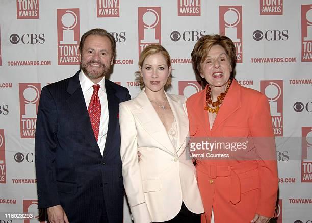 Barry Weissler Christina Applegate and Fran Weissler