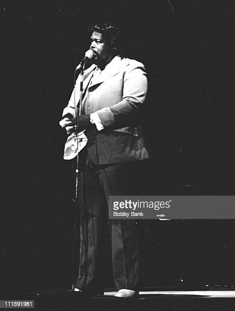 Barry White during Barry White in Concert at the Radio City Music Hall in New York City February 4 1978 at Radio City Music Hall in New York City New...