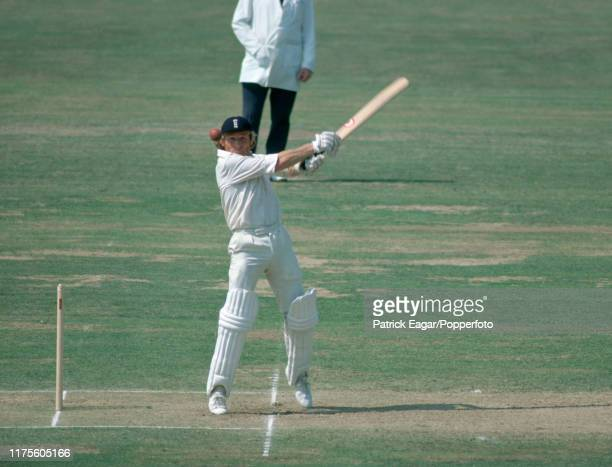 Barry Wood batting for England during the 2nd Test match between England and Australia at Lord's Cricket Ground London 2nd August 1975 The match...