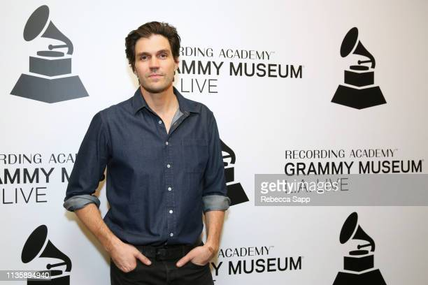 Barry Zito attends Baseball Exhibit Opening with Barry Zito at The GRAMMY Museum on March 14 2019 in Los Angeles California
