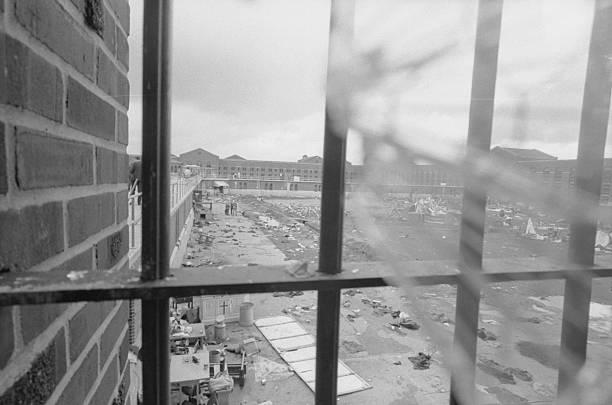 NY: 9th September 1971 - Attica Prison Uprising Begins