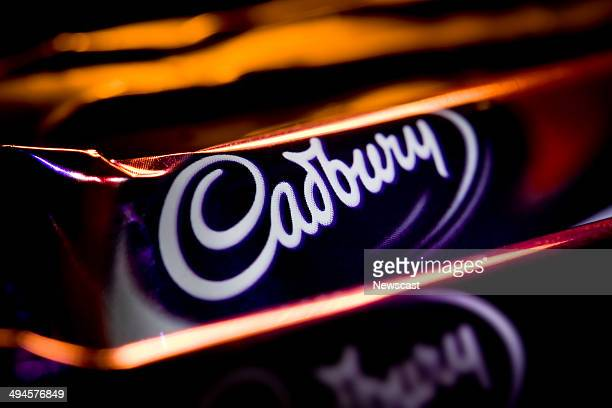 Bars of Cadbury's Dairy Milk chocolate