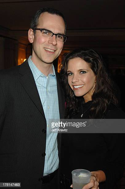 Bart Coleman and Jill Bartlett during Jennifer Lopez Attends the MTV Networks Winter 2007 TCA Press Tour in Los Angeles California United States
