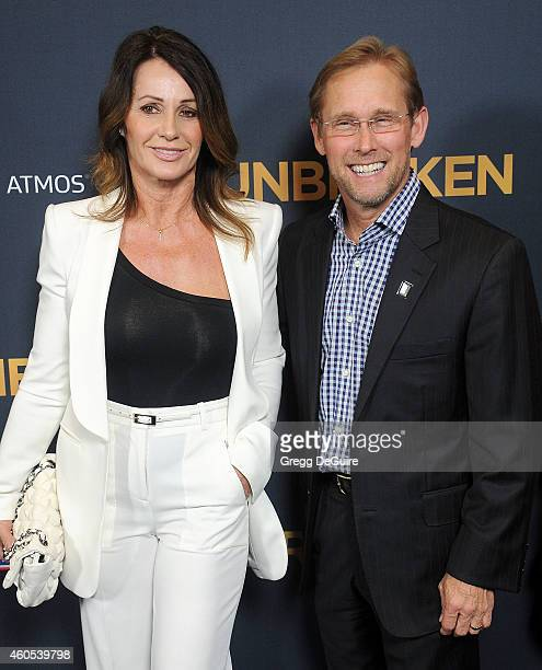 Bart Conner and Nadia Comaneci arrive at the Los Angeles premiere of Unbroken at The Dolby Theatre on December 15 2014 in Hollywood California