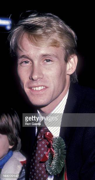 Bart Conner attends Hollywood Christmas Parade on December 1, 1985 in Hollywood, California.