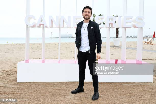 Bart Edwards attends State of Happiness Photocall during the 1st Cannes International Series Festival on April 10 2018 in Cannes France