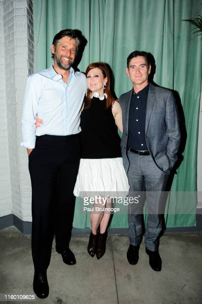 Bart Freundlich Julianne Moore and Billy Crudup attend Chopard And The Cinema Society Host The After Party For Sony Pictures Classics' After The...