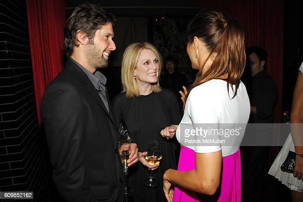 Bart Freundlich Julianne Moore and Helena Christensen attend CALVIN KLEIN COLLECTION Private Dinner hosted by JULIANNE MOORE and KATE BOSWORTH at...