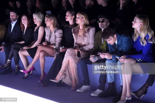 Bart Freundlich Julianne Moore Elizabeth Banks Hailey Baldwin Doutzen Kroes Rosie HuntingtonWhiteley Zayn Malik Anwar Hadid and Nicola Peltz attend...