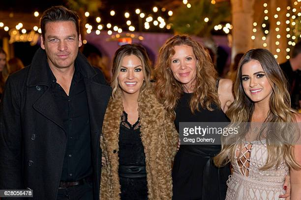 Bart Johnson Becca Tilley Robyn Lively and JoJo Fletcher attend Becca Tilley's Blog And YouTube Launch Party at The Bachelor Mansion on December 5...