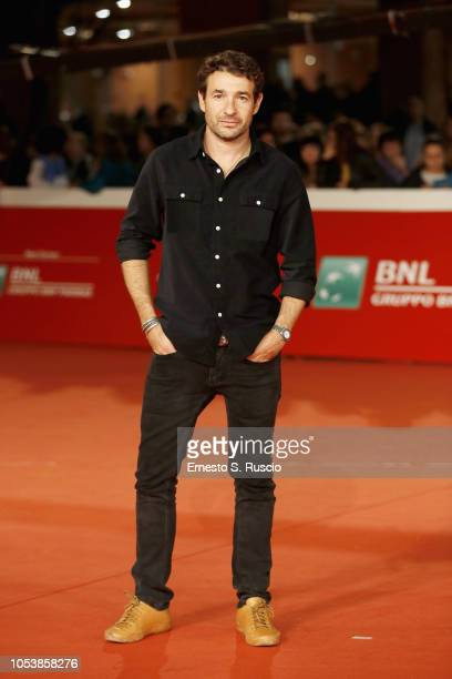 Bart Layton walks the red carpet ahead of the American Animals screening during the 13th Rome Film Fest at Auditorium Parco Della Musica on October...