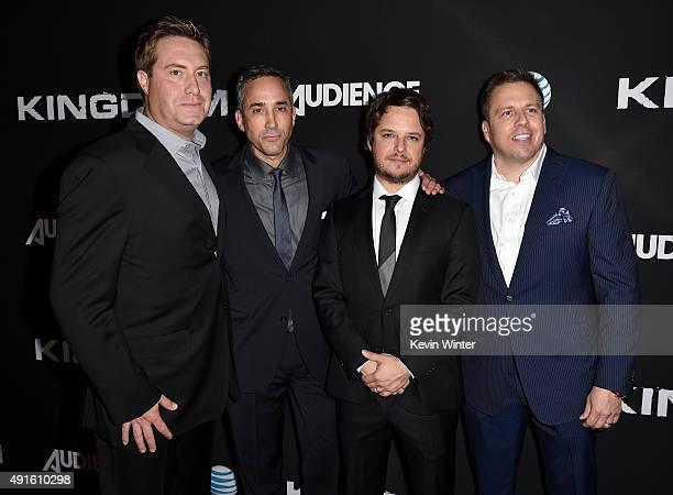 Bart Peters Vice President Development and Production ATT Jeremy Gold EVP Endemol Shine Studios creator/EP Byron Balasco and Chris Long Senior Vice...