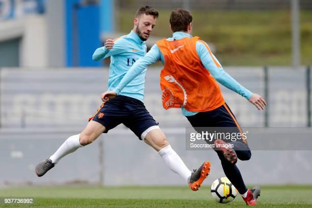 Bart Ramselaar of Holland U21 during the Training Holland U21 at the Ciutat Esportiva Dani Jarque on March 25 2018 in Mataro Spain