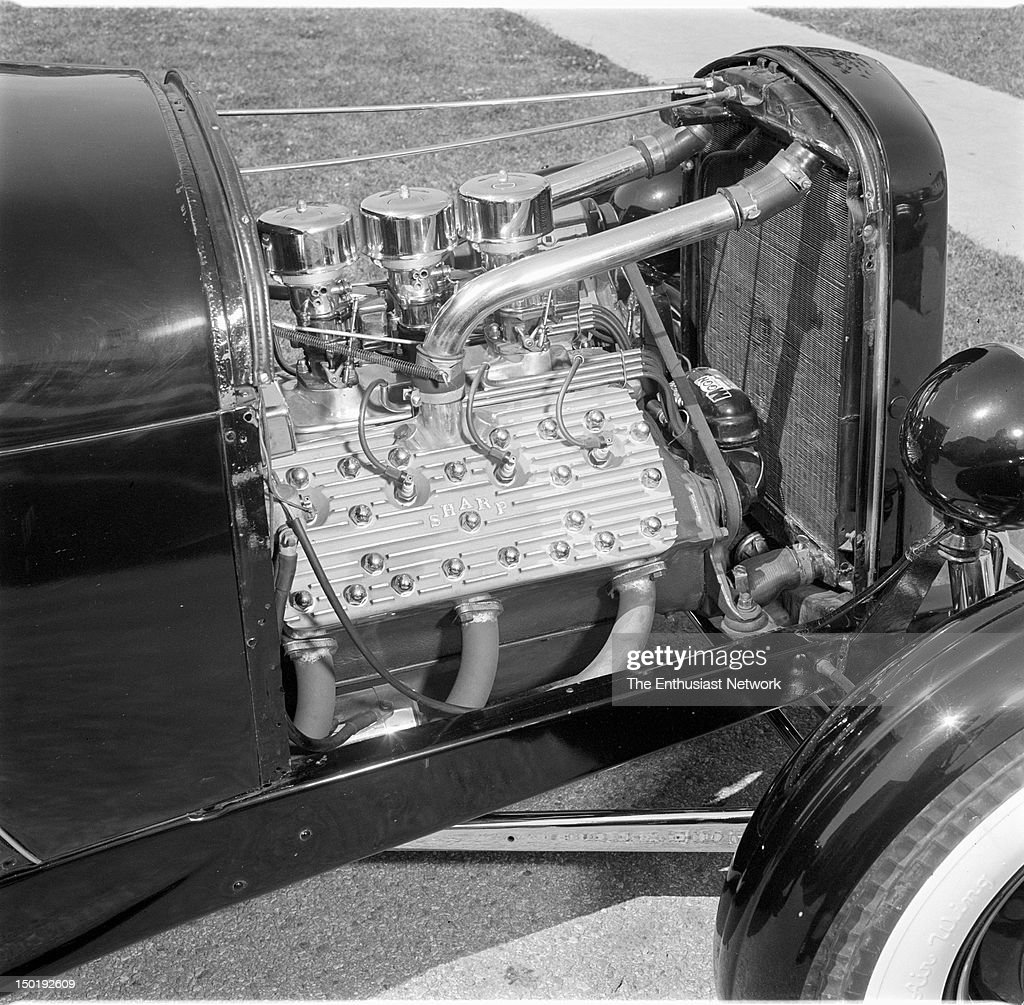 Bart Root's Racing Roadster  Flathead Ford engine with Sharp