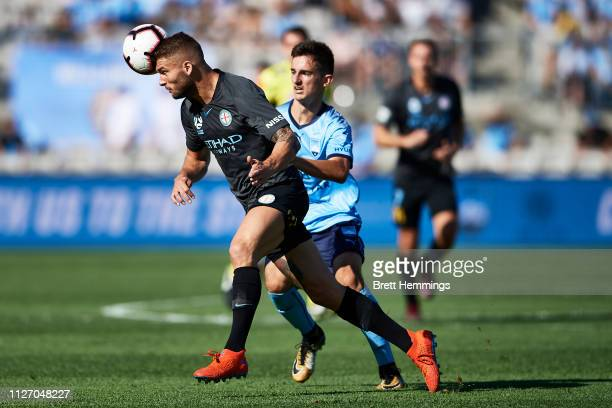Bart Schenkeveld of Melbourne City controls the ball during the round 17 ALeague match between Sydney FC and Melbourne City at WIN Jubilee Stadium on...