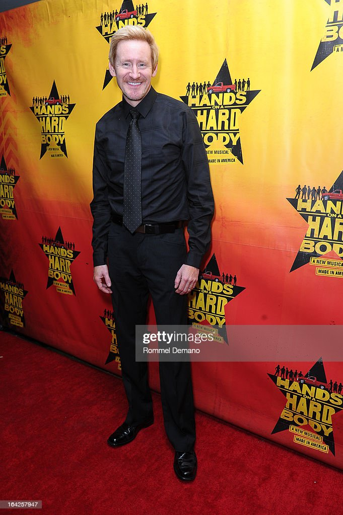 Bart Shatto attends the 'Hands On A Hard Body' Broadway Opening Night After Party at Roseland Ballroom on March 21, 2013 in New York City.