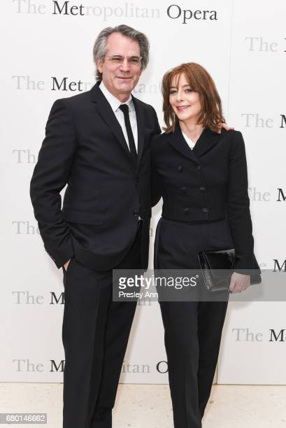 Bart Sher and Kristin Flanders attend Metropolitan Opera 50th Anniversary Gala at Lincoln Center on May 7 2017 in New York City